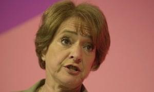 Margaret Hodge, education minister, 2001.