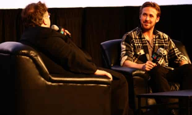 AUSTIN, TX - MARCH 13:  Filmmaker Guillermo del Toro (L) and actor Ryan Gosling speak onstage during 'A Conversation with Ryan Gosling' during the 2015 SXSW Music, Film + Interactive Festival at Austin Convention Center on March 13, 2015 in Austin, Texas.  (Photo by Hutton Supancic/Getty Images for SXSW)South by SouthwestFashionMusictopicstopixbestoftoppicstoppix
