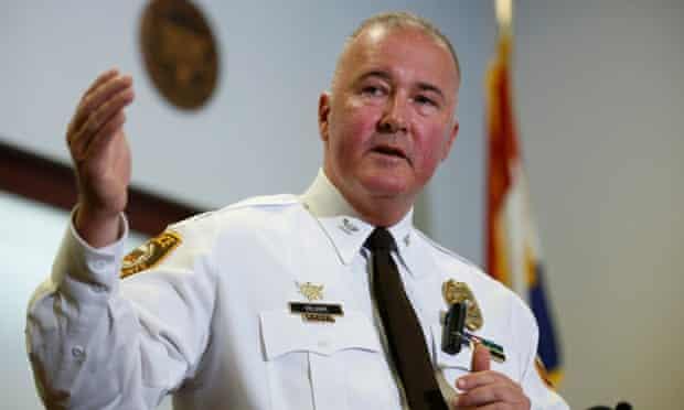 St Louis County Chief of Police Jon Belmar