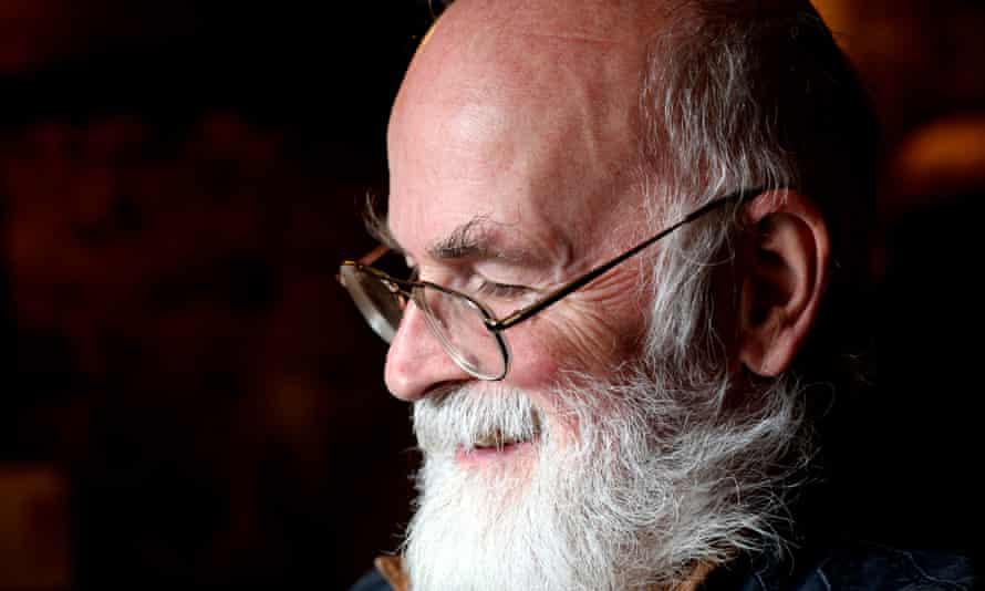 Terry Pratchett – a wonderful writer and lovely man.