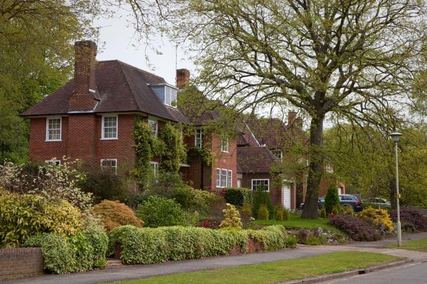 Greener pastures … Welwyn Garden City, Hertfordshire.