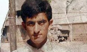 Shafqat Hussain pictured more than 10 years ago.