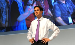 Ed Miliband on fourth day of the annual Labour pary conference in Liverpool