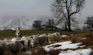 James Rebanks at Racy Ghyll Farm, Penrith, Cumbria