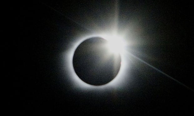 A solar eclipse, like this one seen in Easter Island, Chile, in 2010, is expected to bring thousands of tourists to the north of Scotland.