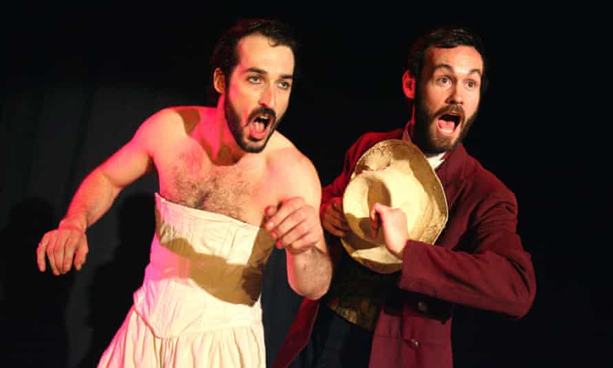 Adam Burton and Hector Harkness in BAC's The Masque of the Red Death.