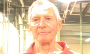 Robert Durst in New Orleans, Louisiana,  on Saturday in a sheriff's office photo.