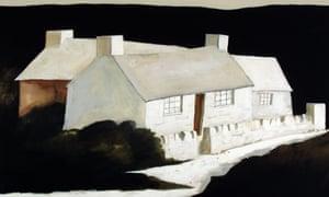 John Knapp-Fisher建造的Abereiddy建筑物。由Martin Tinney画廊提供
