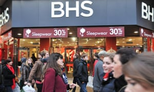 BHS has struggled to keep up with more fashionable retailers such as H&M and Primark