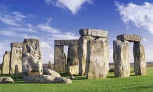 'We've been looking at Stonehenge the wrong way,: from the earth,' says Julian Spalding, who believes Stonehenge served as a raised alter on which masses of worshippers would gather.