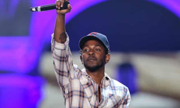 Record breaker ... Kendrick Lamar