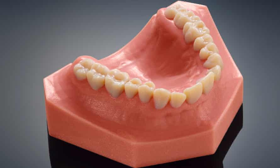 Stratasys' latest 3D printer focuses on teeth.