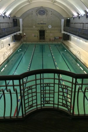 Porchester Spa swimming pool