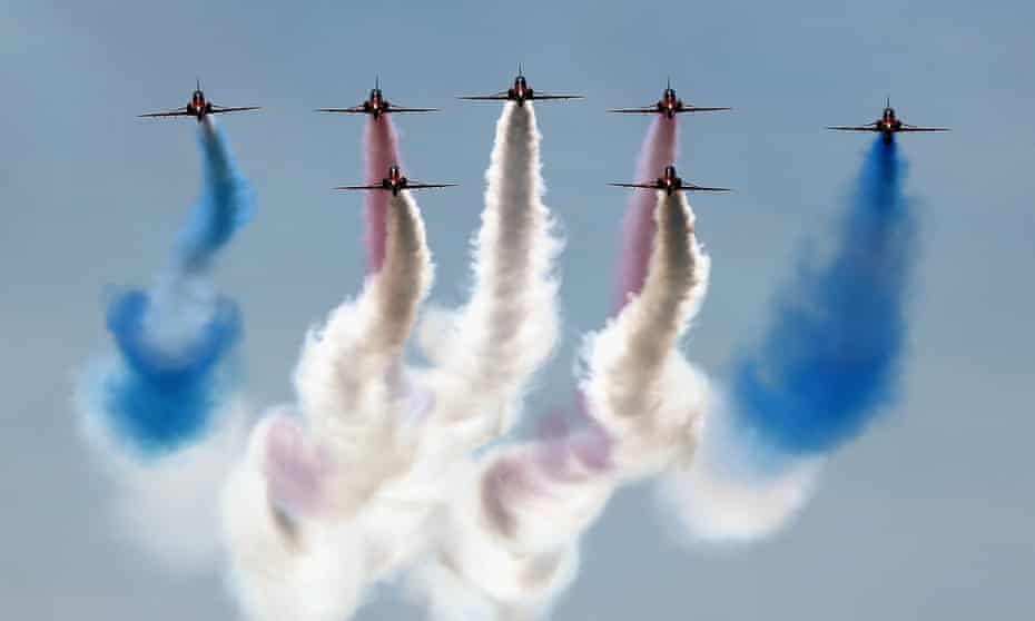 The BBC's Red Arrows: Inside The Bubble drew 4 million fewer viewers than a typical Top Gear episode.