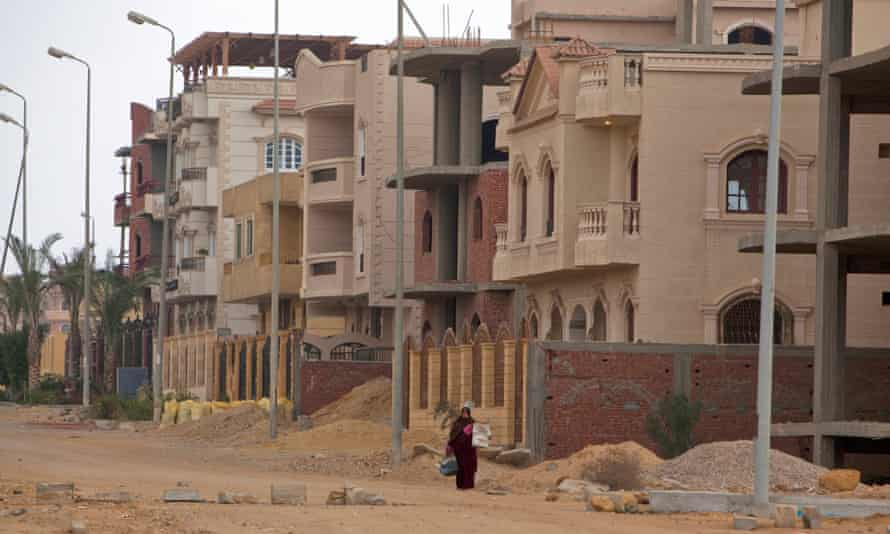 The recent suburb of New Cairo was meant to attract several million residents, but a decade on is only home to a few hundred thousand.