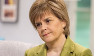Nicola Sturgeon on ITV this morning