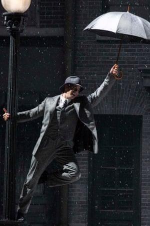 Dan Burton as Don Lockwood in Singin' in the Rain.