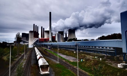 A coal-fired power plant in Germany. Norway's sovereign wealth fund, the world's richest, has dropped holdings in 53 coal companies.