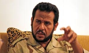 Libyan rebels' Tripoli military commander Abdel-Hakim Belhaj.