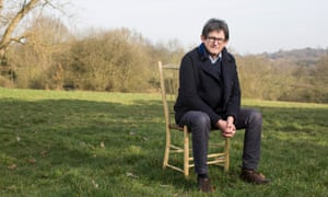 Alan Rusbridger in London, for the launch of the Guardian's climate change campaign.