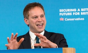 Grant Shapps making a speech in January 2015