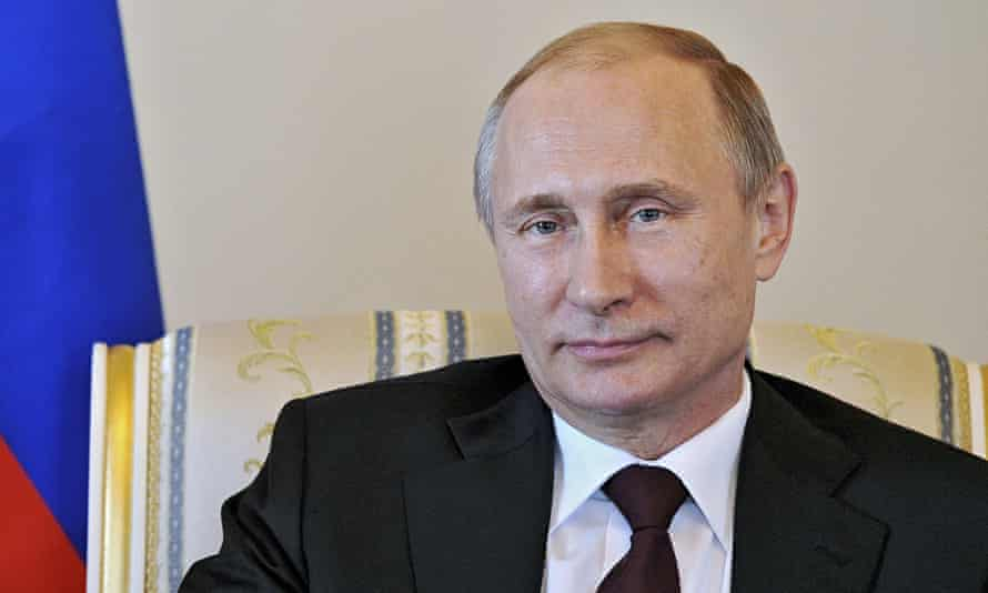 You're looking peaky, dear … Putin emerges in St Petersburg after 10 days' unexplained absence.