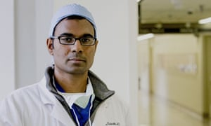 Paul Kalanithi in hospital