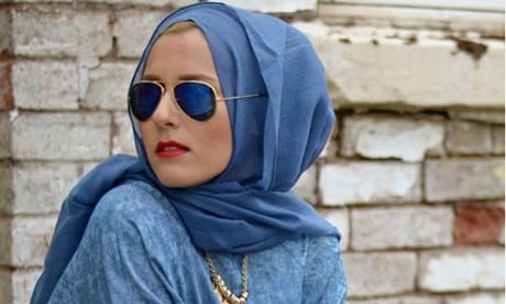 Fashion blogger Dina Torkia   There s a fear factor around the hijab  705aac8f23f09