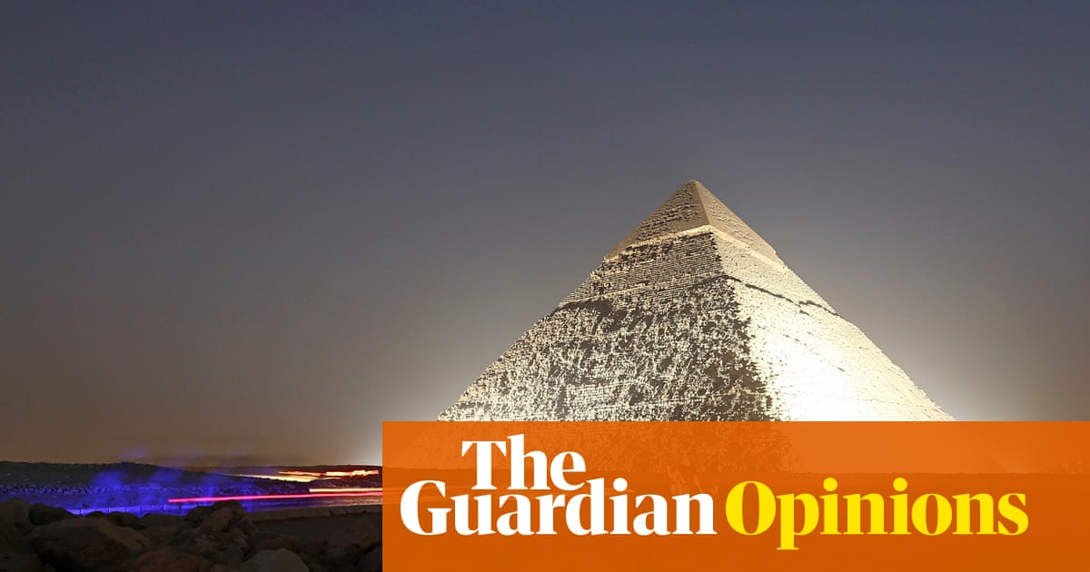 To understand the pyramids and Stonehenge, look up – not down