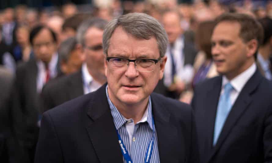 Lynton Crosby at the 2014 Tory conference