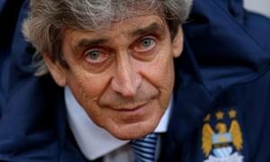 Manchester City manager Manuel Pellegrini.