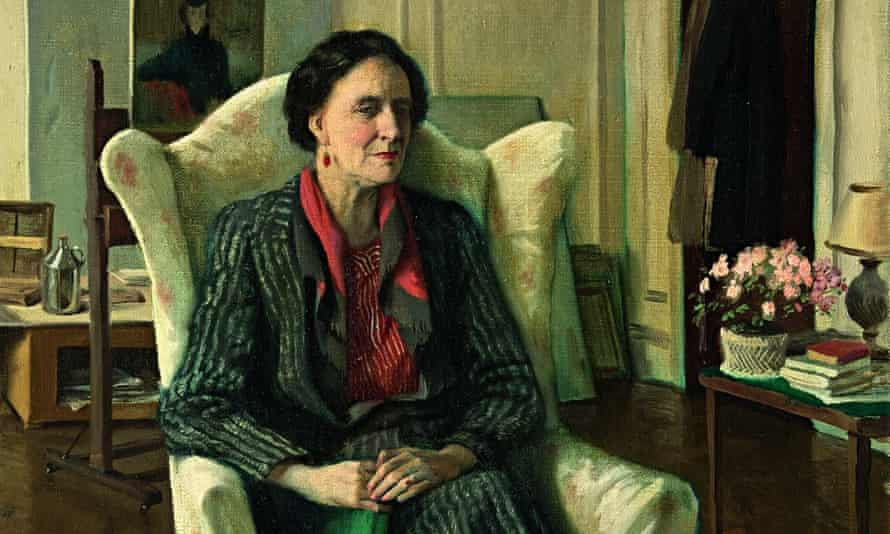 1940 portrait of Edith Olivier by Rex Whistler.