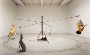 Bruce Nauman: Carousel (Stainless steel version), 1988