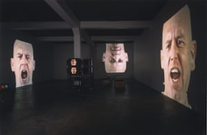 Bruce Nauman: Anthro/Socio (Rinde Facing Camera), 1991