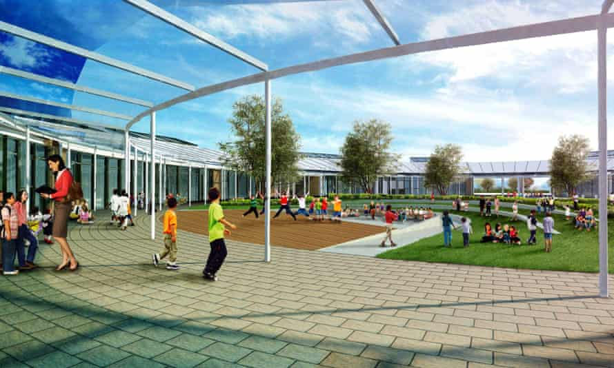 Concept visual for University of Cambridge primary school
