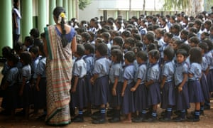 Gnana Deepam Matric School in Tamil Nadu, India