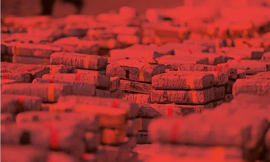 Blocks of cocaine