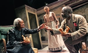 Carmen Munroe, Jenny Jules and Joseph Marcellin in August Wilson's Gem of the Ocean at the Tricycle.