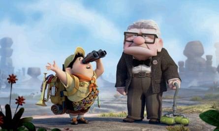 2009 Pixar Film Up: Russell and Carl Fredricksen