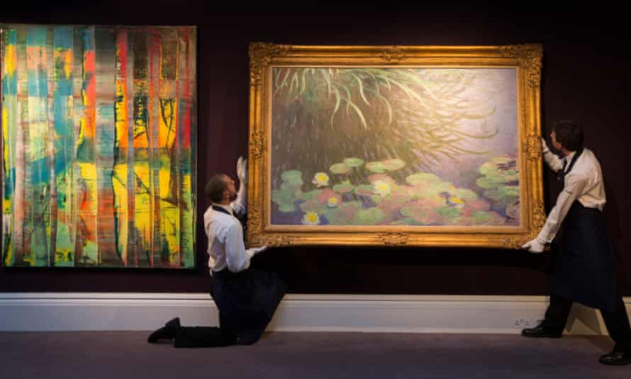 Sotheby's sale of Impressionist art in 2013. The auction house has lagged behind its privately owned rival Christies, which has profited from online sales.