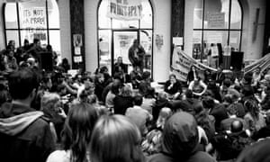 student protest at University of Amsterdam