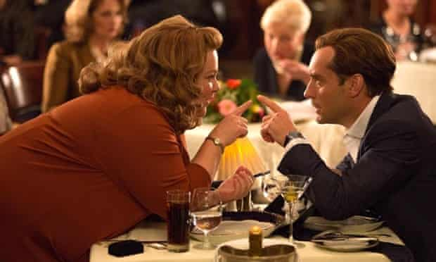 Melissa McCarthy and Jude Law in Spy