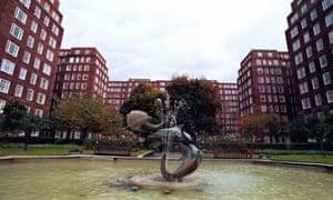 Dolphin Square estate in London