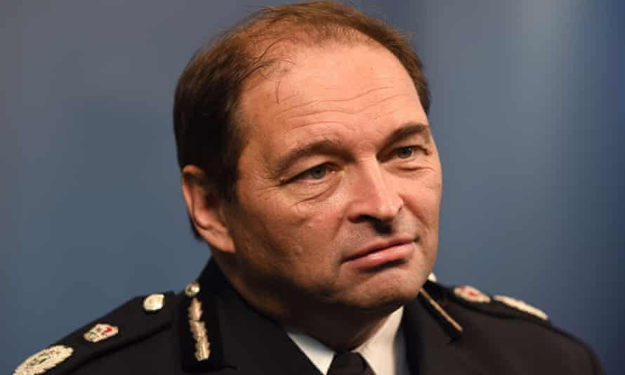 'Now, threats and harms are not based on street-based issues,' said West Midlands police chief constable Chris Sims.