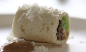 Chef Watson's Austrian chocolate burrito.