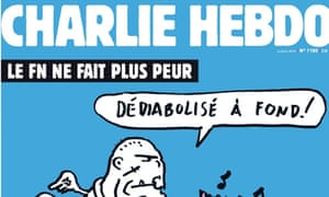 The front cover of the latest edition of Charlie Hebdo.