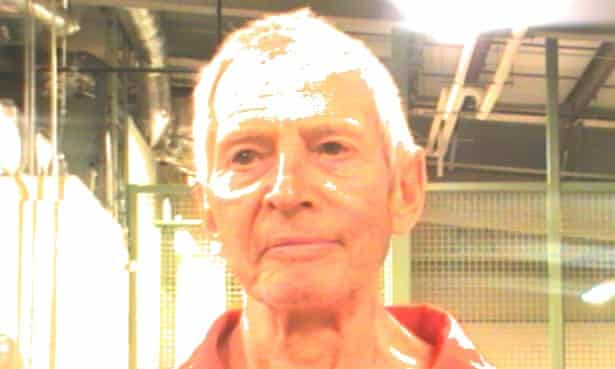 Robert Durst, after his arrest by FBI agents in New Orleans. He will be sent to Los Angeles after waiving his right to contest extradition.