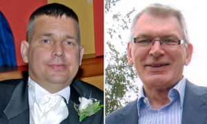 Darren Hughes, 42, of Bridgend, and Robert Stuart, 67, from Cardiff, who died after receiving an infected kidney from an alcoholic donor who had a parasitic worm in his bloodstream.