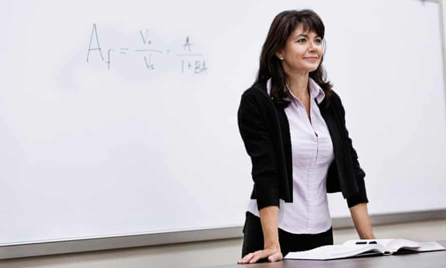 She is more than a professor; she's a role model to her students.