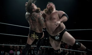 Progress wrestlers in the ring